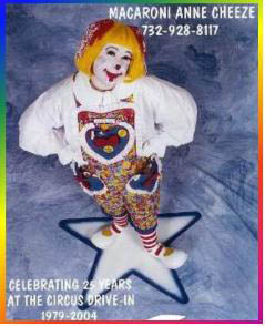 Macaroni Anne Cheeze - Clowning, Facepainting, Balloons